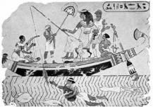 buzos en el Egipto de Cleopatra